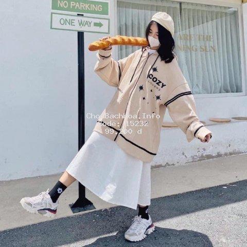 Áo khoác nỉ mũ COZY01 phối sọc đen kiểu dáng thể thao form rộng unisex nam nữ, áo nỉ hoodie ulzzang