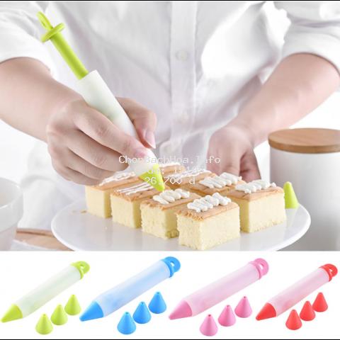 Bút vẽ trang trí bánh bằng Silicone cấp thực phẩm