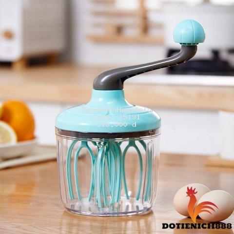 Máy Đánh Trứng Mini Cầm Tay - Máy Đánh Kem Thủ Công - Dụng Cụ Làm Bánh Thông Minh Tiện Lợi