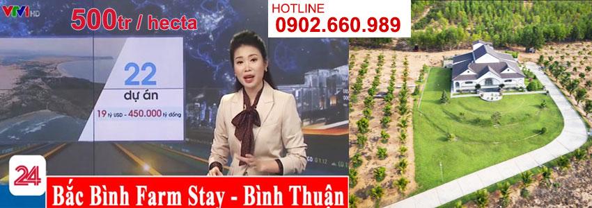 Đất nền làm trang trại Bắc Bình - Bình Thuận - Farmstay giá 500tr 1 hecta 10.000m2